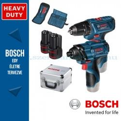 Bosch GDR 120LI + GSR 120LI Akkus szett