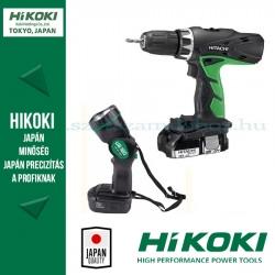 Hitachi (HiKOKI) DS14DCL Akkus fúró-csavarbehajtó + lámpa