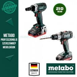 Metabo BS 18 L + SSW 18 LTX 200 Akkus szett