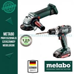 Metabo BS 18 + W 18 LTX 125 Quick Akkus szett