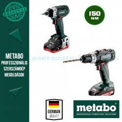 Metabo BS 18 L + SSD 18 LTX 200 Akkus szett