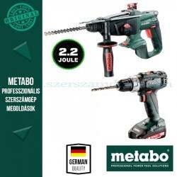 Metabo BS 18 L + KHA 18 LTX Akkus szett