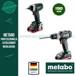 Metabo BS 18 + SSD 18 LTX 200 Akkus szett
