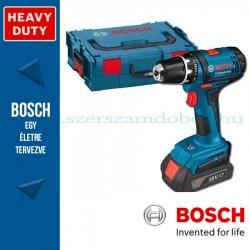 Bosch GSR 18-2-LI Professional fúró-csavarbehajtó 2 akkuval