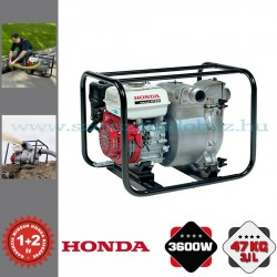 Honda WT 20 Benzinmotoros Zagyszivattyú