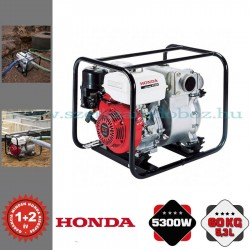 Honda WT 30 Benzinmotoros Zagyszivattyú