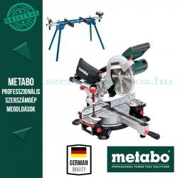 Metabo KGSV 216 M Fejező és gérvágófűrész + Gérvágó állvány