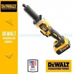 DeWalt DCG426P2-QW 18V kefe nélküli egyenescsiszoló