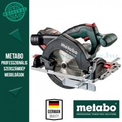 Metabo KS 18 LTX 57 Akkumulátoros kézi körfűrész - alapgép