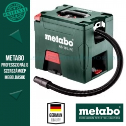 Metabo AS 18 L PC Akkus porszívó - alapgép