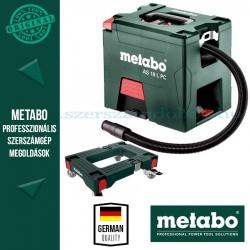 Metabo AS 18 L PC Akkus porszívó - alapgép + görgős talp