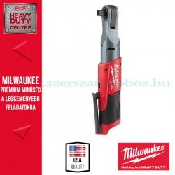 """Milwaukee M12 FIR12-0 (1/2"""") Akkus Racsnis csavarkulcs - alapgép"""