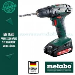 Metabo BS 18 Akkumulátoros fúrócsavarozó