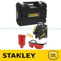 Stanley 360 + 2V, vonallézer, vörös