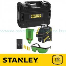 Stanley 360 + 2V, vonallézer, zöld