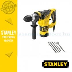 Stanley FatMax SDS-Plus Állómotoros Fúrókalapács 1250W + Vésőkészlet