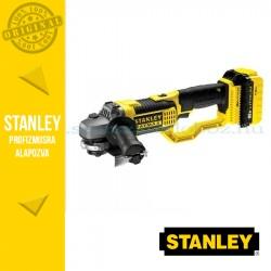 Stanley FatMax 18V-os sarokcsiszoló 125mm