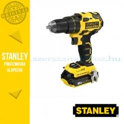 Stanley 18V-os Kefe nélküli Fúró-csavarozó 2x2Ah akkumulátor