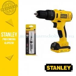 Stanley FatMax 10.8V Ütvefúró/csavarozó + Fordítható fúró/csavarozó fej
