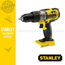 Stanley 18V-os Kétsebességes ütvefúró/csavarozó akku és töltő nélkül