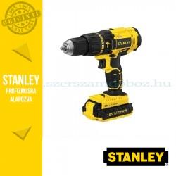 Stanley 18V-os akkus ütvefúró-csavarozó