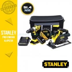 Stanley Ütvefúró-csavarozó és Körfűrész csomag