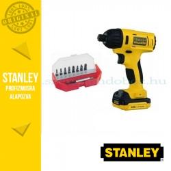 Stanley FatMax 10,8V-os Ütvecsavarozó + Behajtóhegy készlet