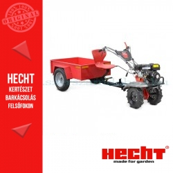 HECHT 7970 Benzines Kapálógép Utánfutóval
