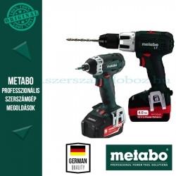Metabo ComboSet 2.1,1  18V -BSLT + SSD18 Akkus gépszett