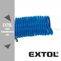 Extol Légtömlő spirál kompresszorhoz 5m - 5m – 6/8mm