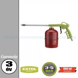 Extol Fuvató pisztoly tartállyal - 3-5bar – 900ml