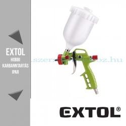 Extol Festékszóró pisztoly légkompresszorhoz - 4bar – 700ml