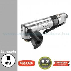 Extol Pneumatikus sarokcsiszológép - 6,3bar – 10 000f/perc – 125mm