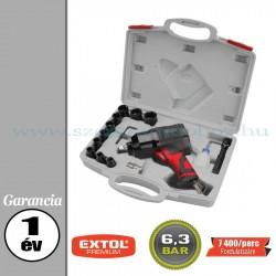 Extol Légkulcs készlet 15 db - 6,3bar – 7 400f/perc