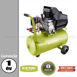 Extol Olajos légkompresszor - 8bar – 1,1kW – 154L/perc