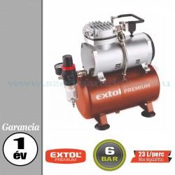 Extol Olajmentes légkompresszor - 6bar – 150W – 23L/perc