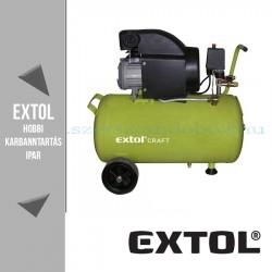 Extol Olajos légkompresszor - 8bar – 1,5kW – 208L/perc