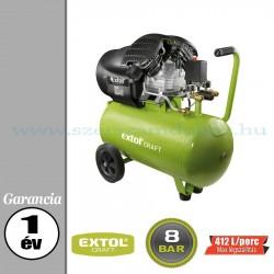 Extol Olajos légkompresszor - 8bar – 2,2kW – 412L/perc