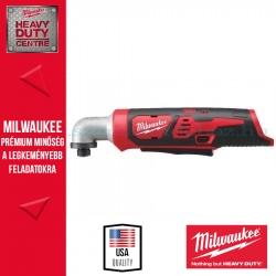 Milwaukee M12 BRAID-0 - Akkumulátoros szuperkompakt sarok ütvecsavarozó - alapgép