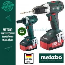 Metabo ComboSet 18V akkus ütvecsavarozó + fúró-csavarbehajtó