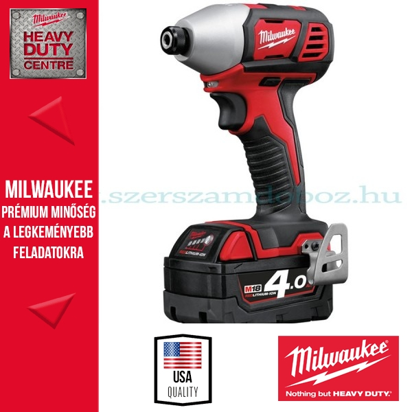 Milwaukee 18V-os gépek