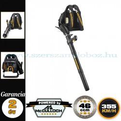 McCulloch GB 355 BP Benzines hátizsák-lombfújó