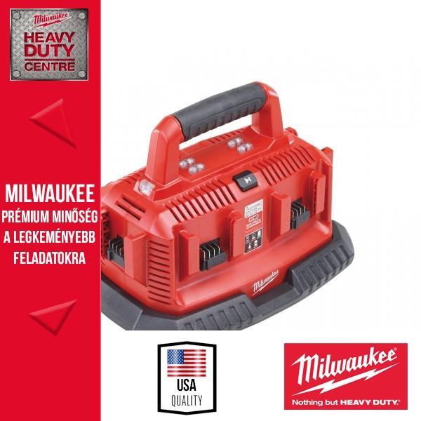 Milwaukee M1418C6 Multizónás akkutöltő