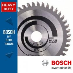 Bosch Körfűrészlap, Multi Material különféle anyagokhoz 210mm 80fog