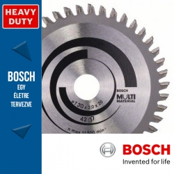 Bosch Körfűrészlap, Multi Material különféle anyagokhoz 210mm 54fog