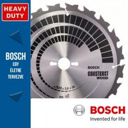 Bosch Körfűrészlap Construct Wood építkezési faanyagokhoz szeg vagy betonmaradvánnyokkal  184mm 12fog