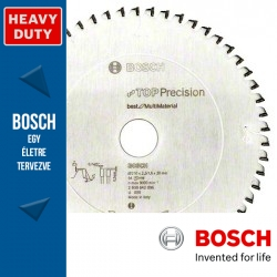 Bosch Körfűrészlap, Top Precision faanyagokhoz asztali körfűrészekhez 300mm 72fog
