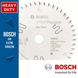 Bosch Top Precision Wood körfűrészlap faanyagokhoz merülő körfűrészhez 165mm 48fog