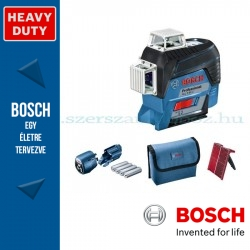 Bosch GLL 3-80 C Professional vonallézer + LR6 vevőegység