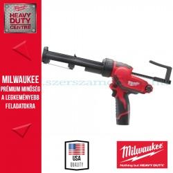 Milwaukee M12 PCG/310C-201B Akkus tömítőanyag- és ragasztópisztoly 310 ml kartustartóval